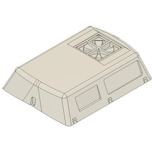 RPU-2204軽量車用クーラー Nゲージ用5両セット【TKK8000/8500系ほか】