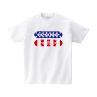 NO SK8iNG USA Tシャツ S/ホワイト