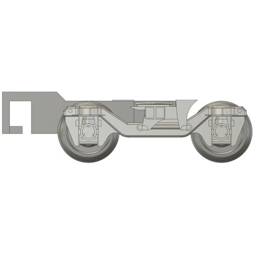 TS-815C(A型改造) Nゲージ用台車枠2両セット【TKK8500/8590系ほか】