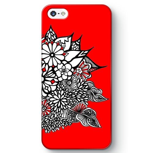 もりもり葉っぱべにたんぐる:赤