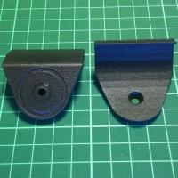 マグネットタイプスマホホルダー取付プレート CX-3(MC後)専用 2個セット