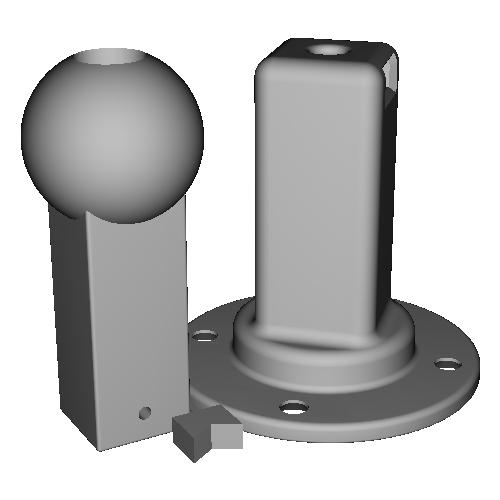 Hアルテトキオ>M25球体変換アダプター