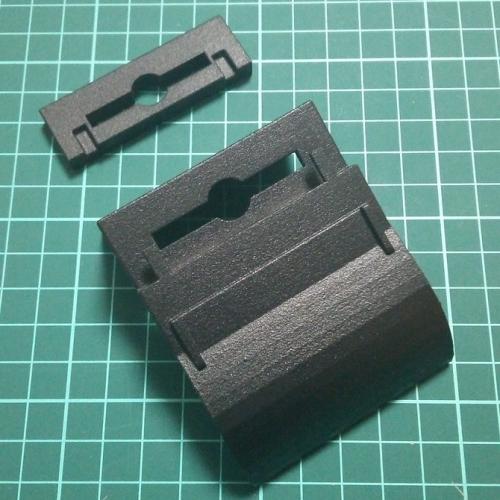 ドリンクホルダーアダプタ(シングルタイプ-4) CX-3(MC後)専用 2個+プレートセット