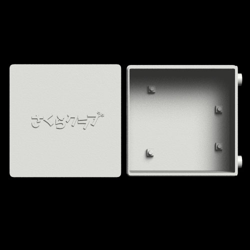 [SA-0001(SP)] SCO-ARD-01対応 スライドケース ロゴ入り
