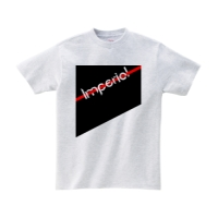 ヘビーウェイトTシャツ L アッシュ Imperial