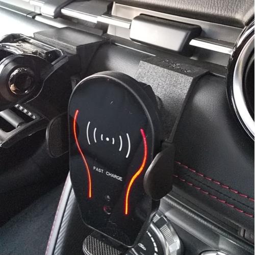 車内アクセサリー取付プレートver.2 デミオ(DJ)/CX-3(MC前)用