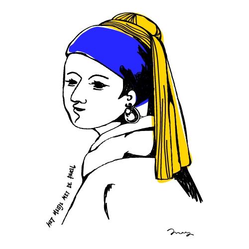真珠の耳飾りの少女 [ M-size ]