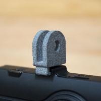 GoPro土台にドラレコ付けるT字のヤツ(縦)