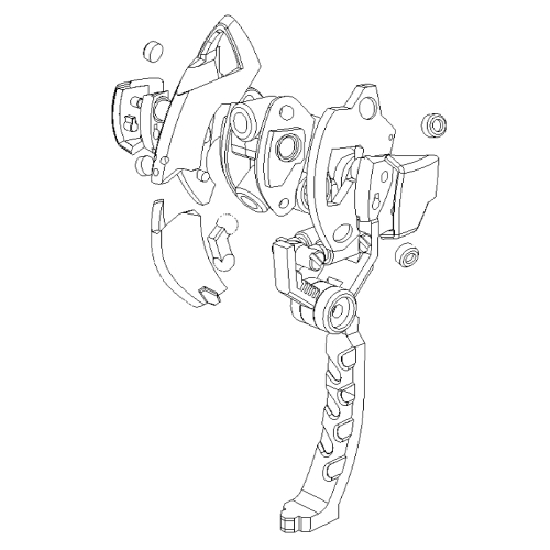メガミデバイス用義肢HPT-LG003外装パーツ