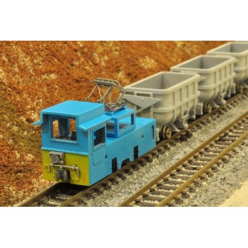 鉱山鉄道6t電気機関車(更新改造後)・ナローゲージ・Mine railway