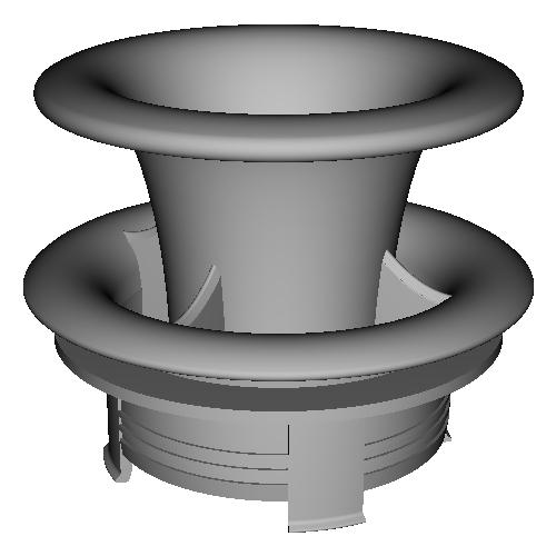 SDR200 純正エアクリーナーボックス用デュアルファンネル
