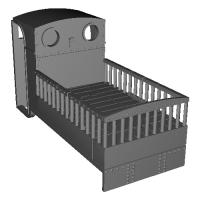 Penrhyn緩急車タイプ 荷台付き(9mmナロー)