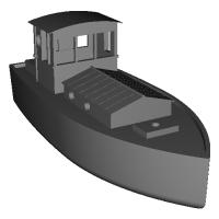 漁船(1/76前後)