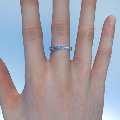 """""""Circle of Solace"""" size Free ring(7~9)"""