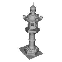 灯籠(灯ろう)03.3mf