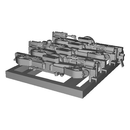 N-DT150ピボット台車(1:80)TOMIX製車輪向け