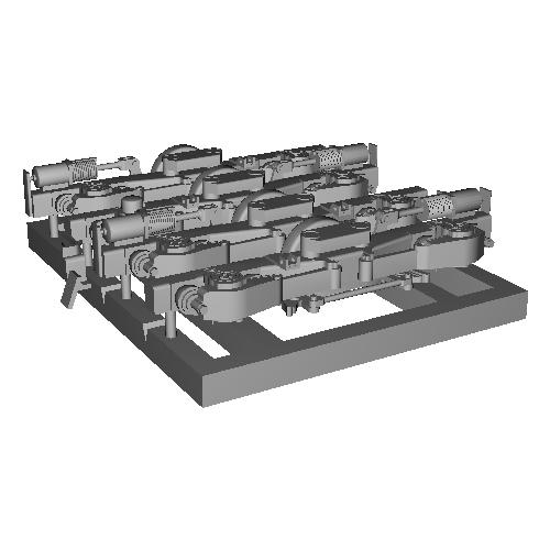 N-DT150プレーン台車(1:80)日光製車輪向け
