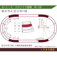 旧)緩和曲線道床素材 NK-S-TC-C 22.5 R2-150 Oval