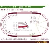 緩和曲線道床素材 NK-M-TC-S 22.5 R4-348 Oval