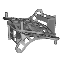 自作3D分割キーボード「Colosseum60」ケース【空間費節約】