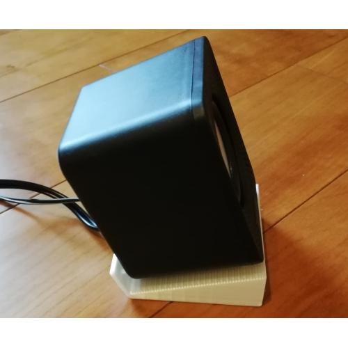 ダイソースピーカー用スタンド2個セット.stl