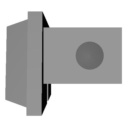 シュー用ドレスアップパーツ (ペンタダミー汎用銘板) [MRO-DS-PEN-01N]