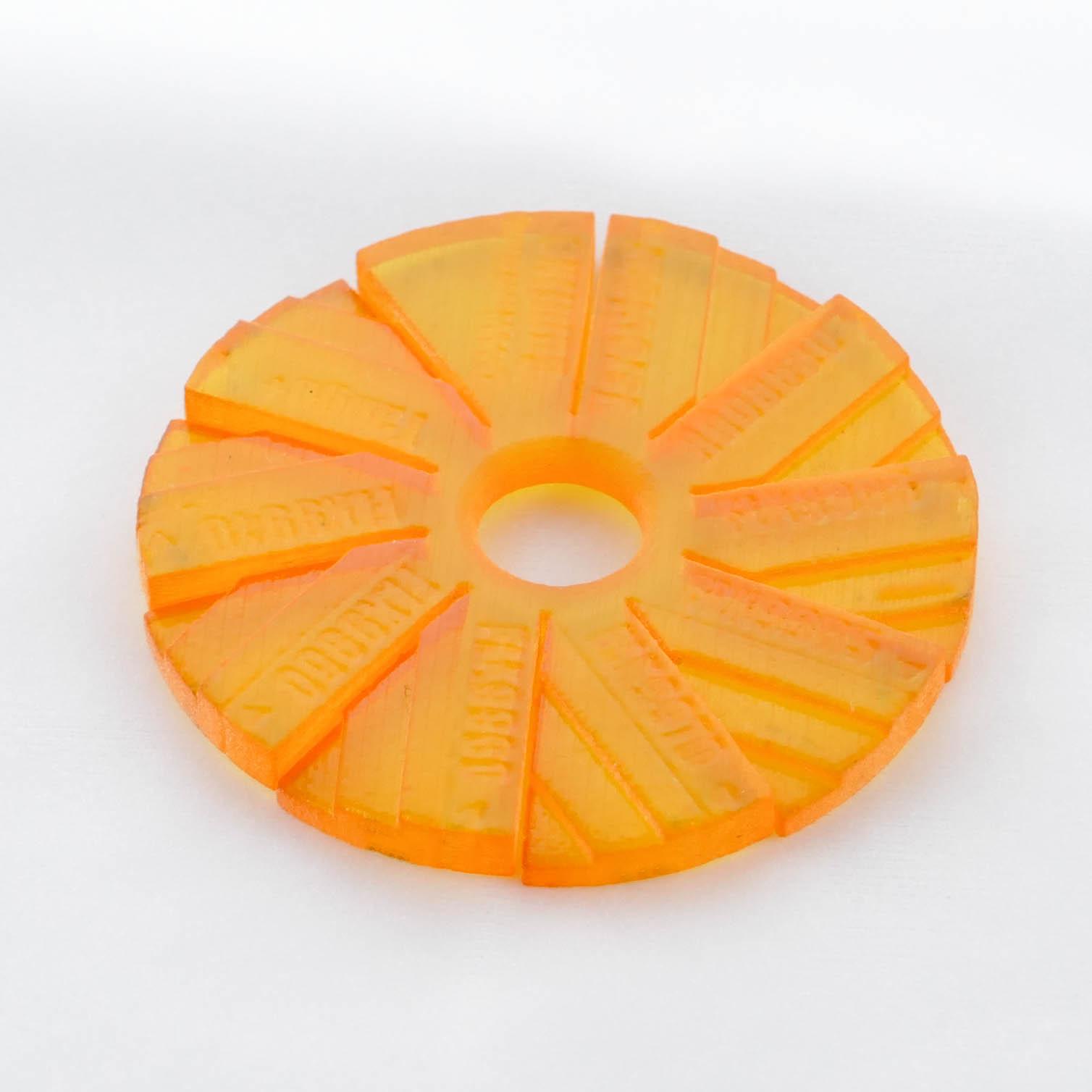 ゴムライク オレンジ(FLX9950)