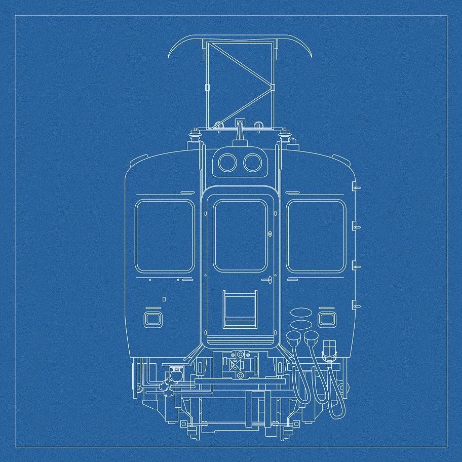 海色電車モデリング